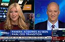 CNBC Squawk on the Street: Ron Shaich on Stepping Down as Panera's CEO