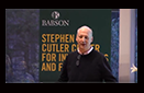 Babson College Distinguished Speaker Series